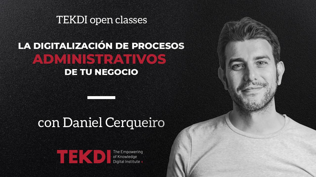 Tekdi open class Daniel febrero